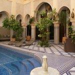La piscina del Riad Salam