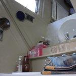 appartamento con vista interna: mansarda (lavandino)