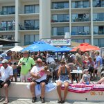 2011 Ocean City Air Show in Front of the outdoor Bar!