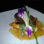 Foie Gras on waffle