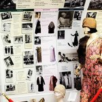 Exhibition of vintage clothes and accessories in the face of historical and social events
