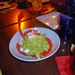 Guacamole appetizer—creative recipe but not my tastes