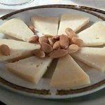 Entrante de queso
