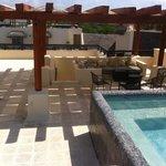 rooftop patio of condo 329