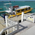 Ferry to Middle Caicos at opposite end of island from airport