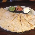 Chicken quesadillas -- large portion