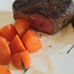 Filet and carrots