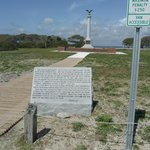 sign at Fort Fisher