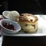 You Have to try the Warm scones with cream and jam :)