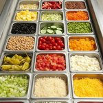 Some of the 50+ Salad Toppings
