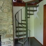 Spiral Staircase to Loft