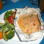 Caribbean style preparation of our fresh catch