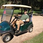 they have buggy hire, if you are feeling lazy!