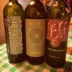 alcuni dei loro vini