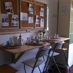 I posti a sedere per la colazione