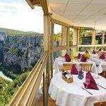 Salle de restaurant panoramique