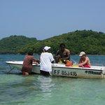 guide et bateau accompagnateur