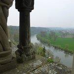 Blick von der Kaiserpfalz auf den Neckar
