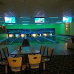 Bowling Lanes in hotel