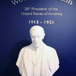 Bust of Woodrow Wilson