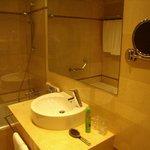 Part af badeværelse