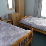 Flat 5 separate bedroom with two single beds