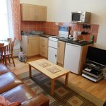 Flat 7 lounge/kitchen/dining