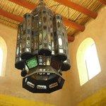 Herrlicher Leuchter im Speisesaal