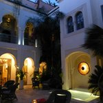 Idra courtyard