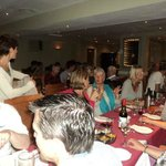 Annual cricket club dinner. We can cater for all types of events and parties.