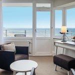 Eckzimmer, Blick vom Zimmer auf die Ostsee