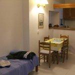 soggiorno/cucina/letti