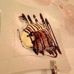 sfoglia con crema pasticcera e cioccolato