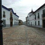 Almagro, nice clear streets.