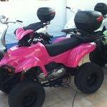 rented quad bike