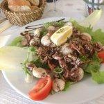 la salade de supions
