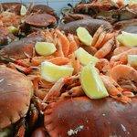 buffet de fruits de mer à volonté tous les midis