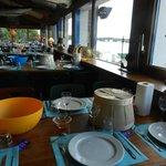 tables vue sur mer