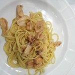 spaghetti alla carbonara di pesce
