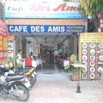 Frontage of Cafe Des Amis
