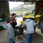 helping the mechanic