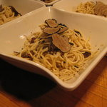 Umbrian spaghetti with truffles
