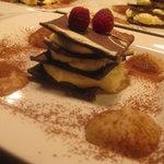 Chocolate millefoglie