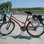 A typical CCBT 3 speed bike w/easy step over frame