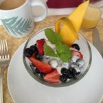 Breakfast ~ fruit course