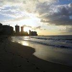 Sunset on Ocean Park Beach