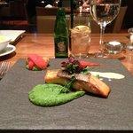 Salmon dinner - quite good