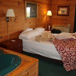 Lodge # 5 King bed