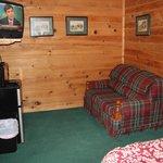 Lodge # 5 TV/Seating area