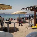 public tourist beach, Aqaba